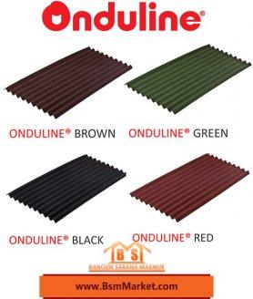 atap onduline suarabaya pilihan warna