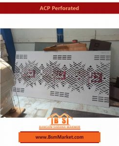 ACP bsm market perforated Murah Akurat