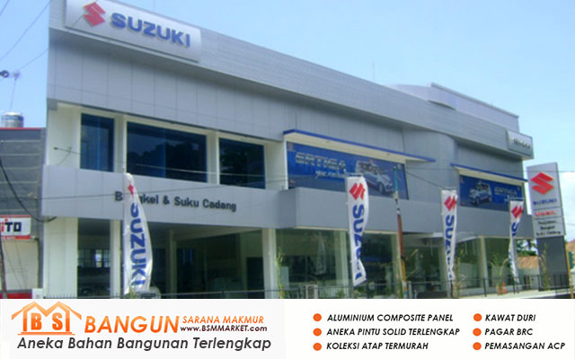 Pemasangan Acp - Suzuki Kupang