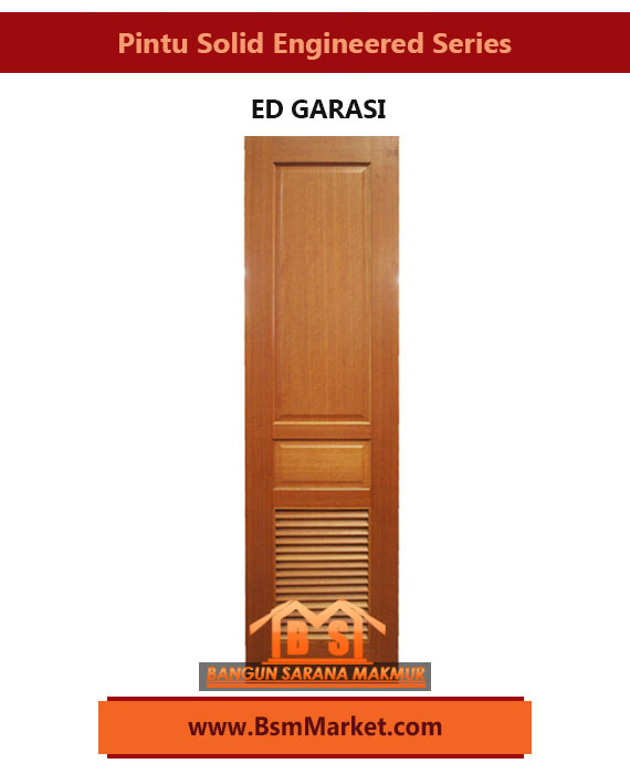 PINTU SOLID ENGINEERED SERIES - ED GARASI
