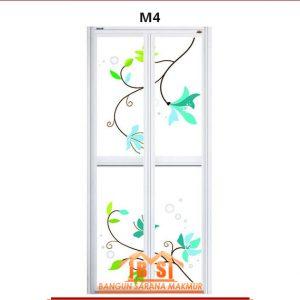 Pintu Vitally BI-FOLD Aluminium Series M4
