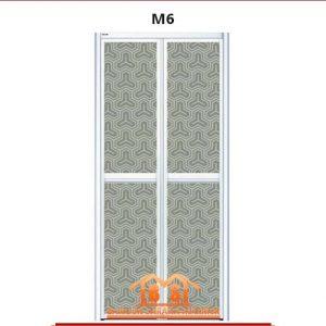 Pintu Vitally BI-FOLD Aluminium Series M6