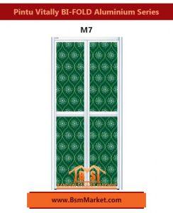 Pintu Vitally BI-FOLD Aluminium Series M7