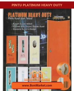 PINTU PLATINUM HEAVY DUTY SURABAYA