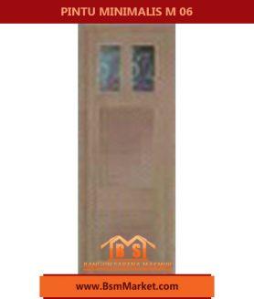 kaca spesial pintu MINIMALIS M07 BERKUALITAS