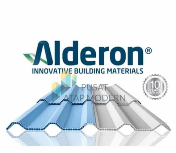 Alderon R830 Atap UPVC Berongga 10mm