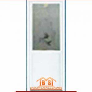 Pintu Alumix Putih Polos Lucu