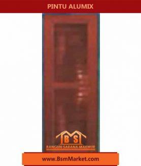 pintu Alumix Coklat desain Elegant