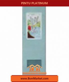 pintu Platinum Biru desain unix