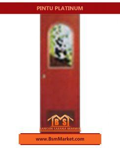 pintu Platinum coklat hewan