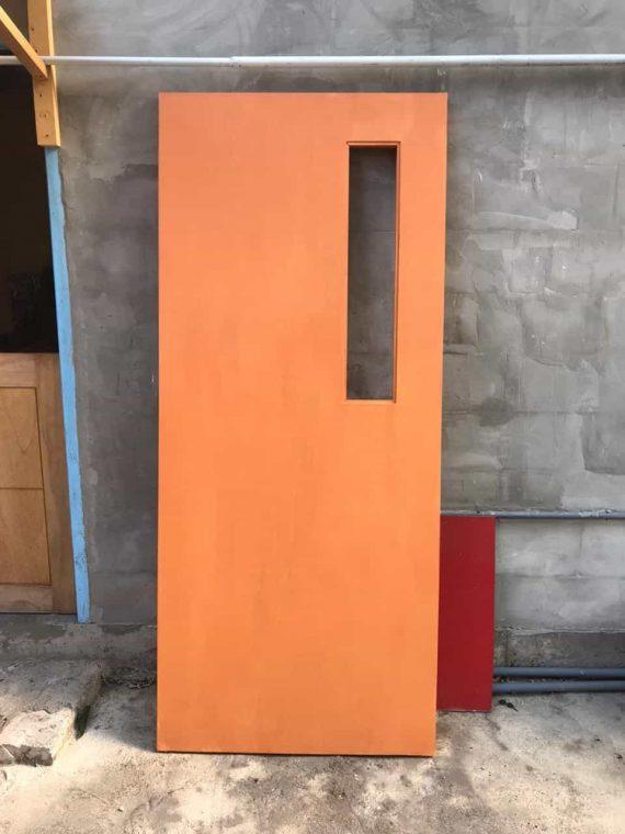 Pintu WPC 3 Model Coklat Murah