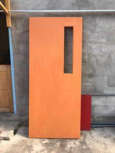 pintu versi wpc3 kotak panjang coklat